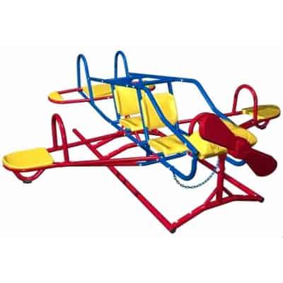 airplane teeter totter seesaw