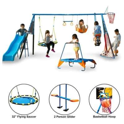 fitness reality metal swing set