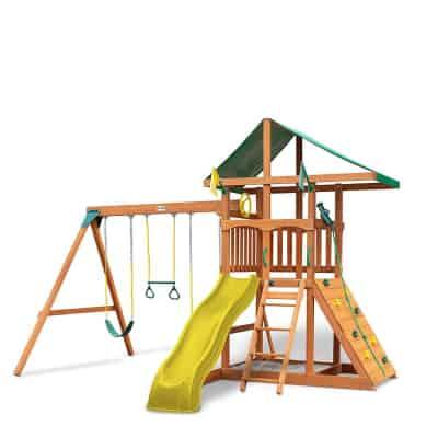 gorilla playset swing set