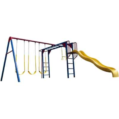 lifetime swingset with slide