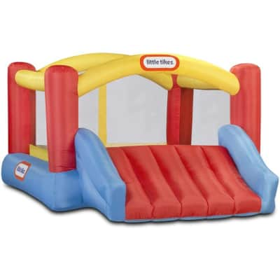 little tykes inflatable bounce house