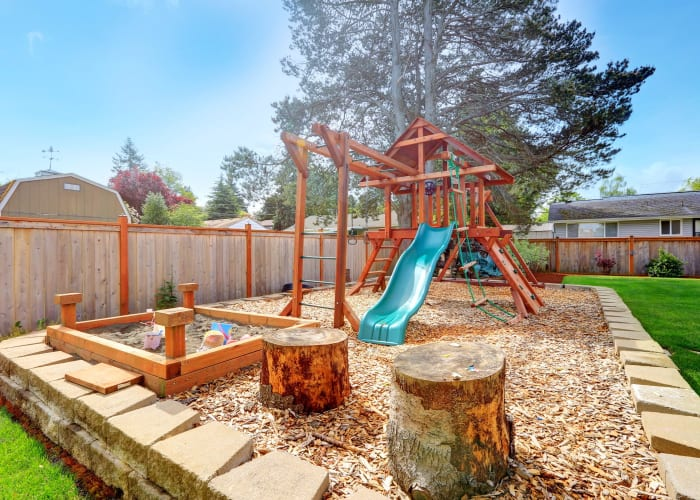 How often should playground equipment be inspected?